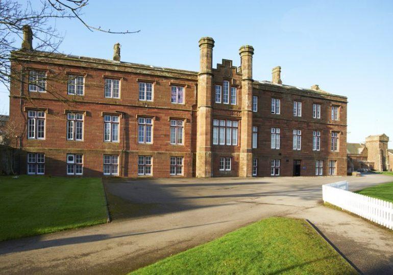 St Bees School quad