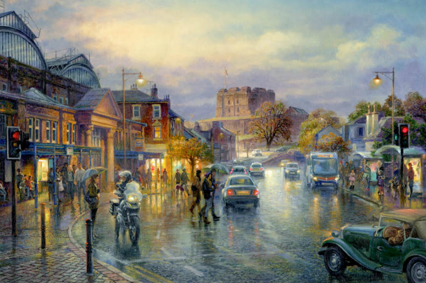 The Guide Magazine Graham Twyford Carlisle Painting