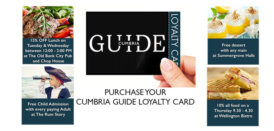 Cumbria Guide Loyalty Card
