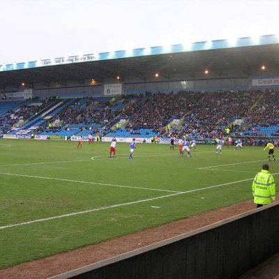 Carlisle United's home ground, Brunton Park