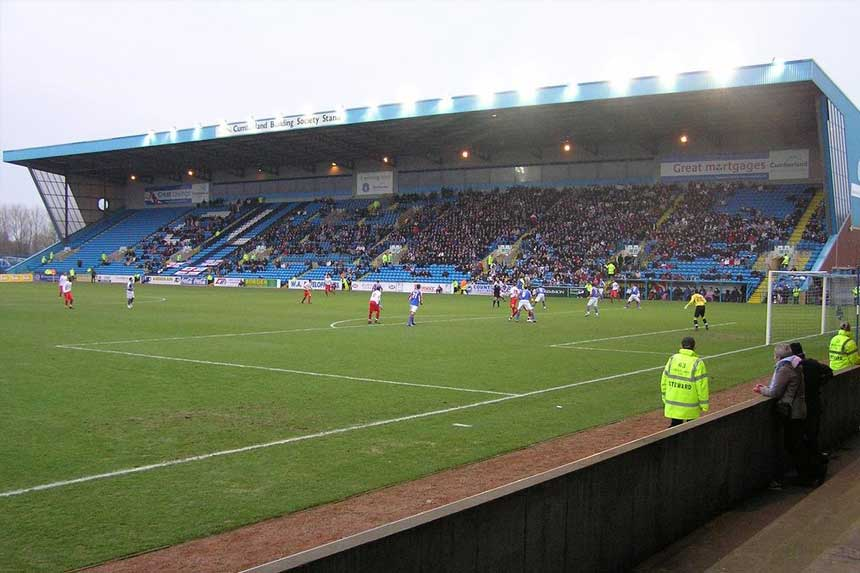 Carlisle United's home ground, Brunton Park