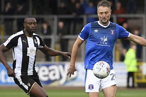 Carlisle United defender Clint Hill.
