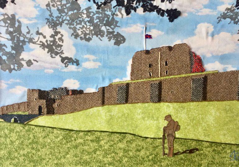 Artwork at Carlisle Museum of Military History