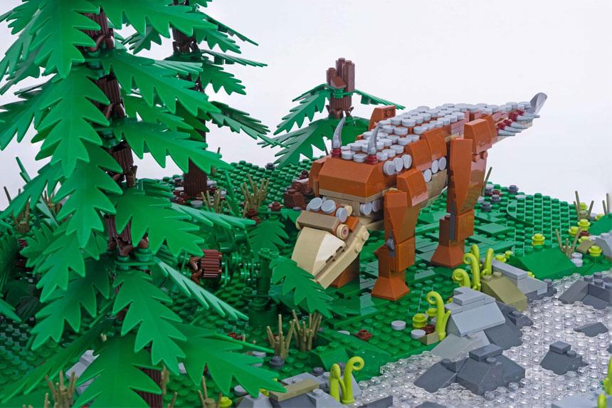 Brick Dinos at the Beacon