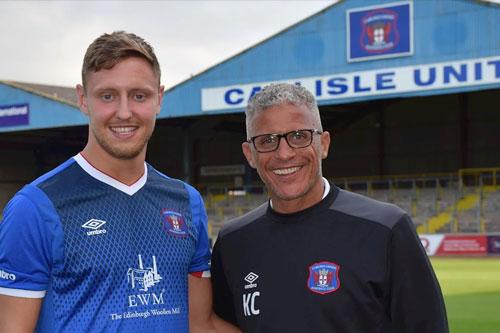 Keith Curle at Carlisle United