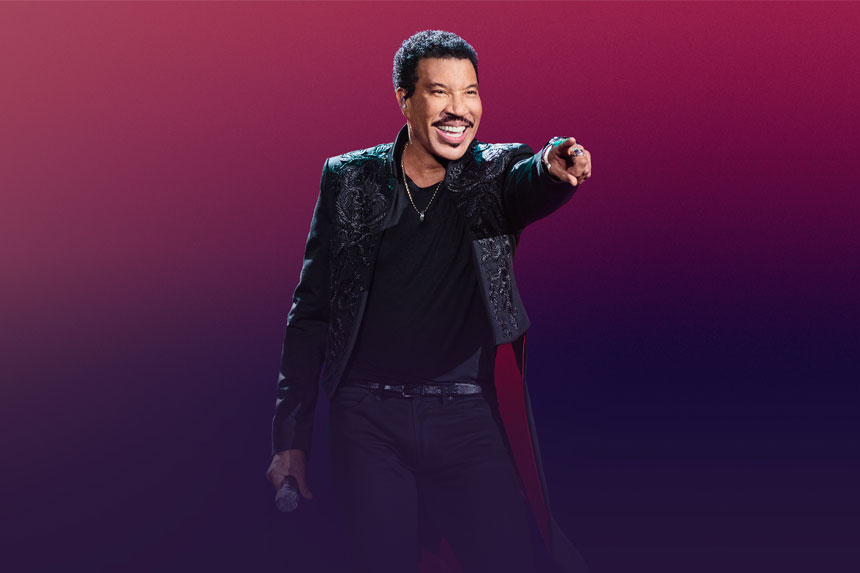 What's on? Lionel Richie