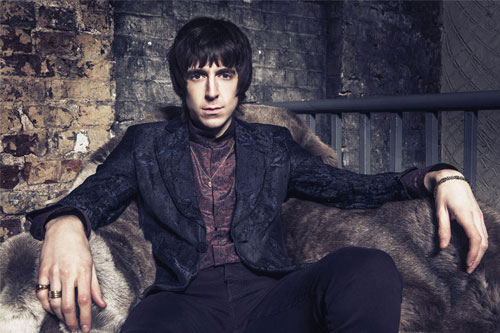 Miles Kane is appearing at the Brickyard