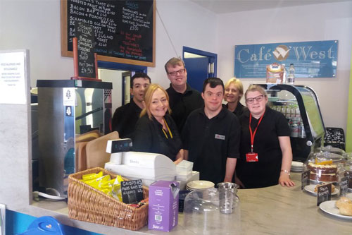 Cafe West are part of Cumbria Exchange