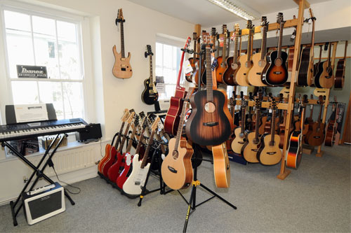 Instruments at Lakeland Music