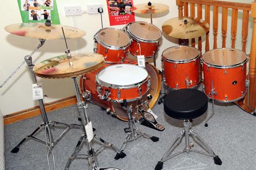 Drums At Lakeland Music