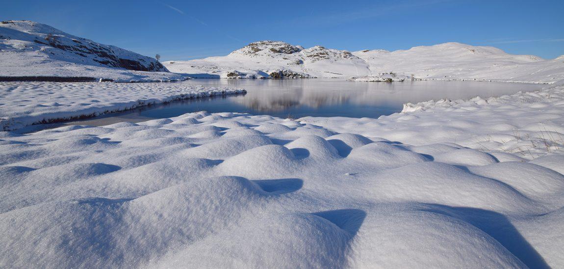Snow Domes at Angle Tarn – Rob Parsons
